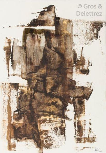Ramsès YOUNAN (1913-1966) Composition technique...