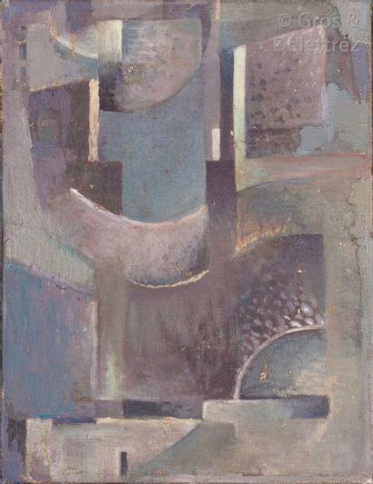 Ramsès YOUNAN (1913-1966) Composition Huile...