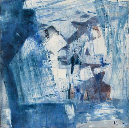 Sonia YOUNAN (née en ) Composition Huile...