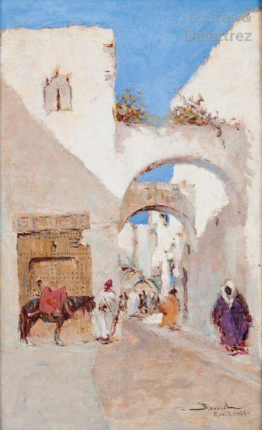 Felipe Barantes ABASCAL (1871-1948) Ruelle...