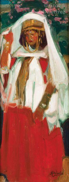 Alfred DABAT (1869-1935) Femme Ouled Naïl...
