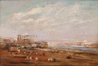 Edouard Jacques DUFEU (1836-1900) Vue du...
