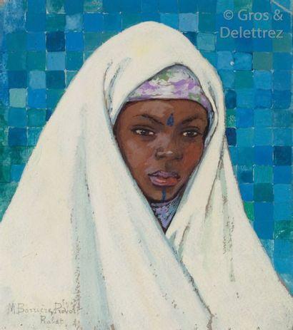 Marguerite BARRIERE-PREVOST (1887-1981) Marocaine...