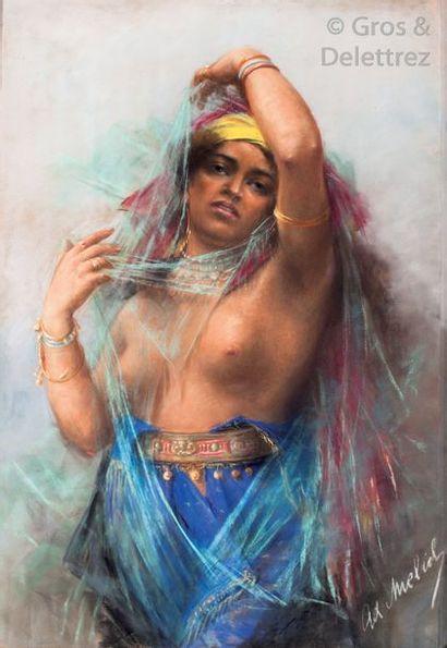 Alphons MIELICH (1863-1929) La beauté orientale...