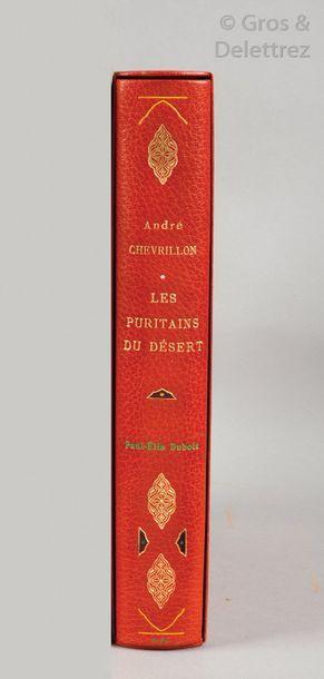 [Paul-Elie DUBOIS] André CHEVRILLON. Les...