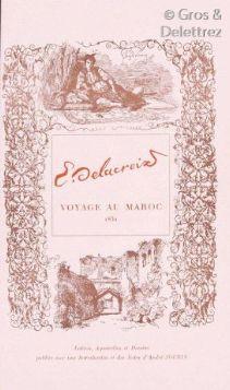 Eugène DELACROIX. Voyage au Maroc. 1832....