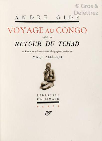 Andre GIDE et Marc ALLEGRET. Voyage au Congo,...