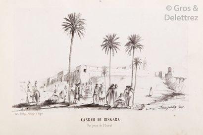 Docteur GUYON. Voyage d'Alger aux Ziban,...
