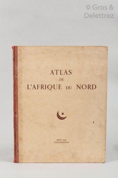 Georges HARDY. Atlas de l'Afrique du Nord....