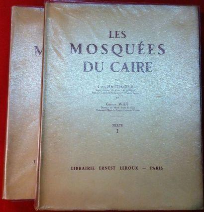 Louis HAUTECOEUR et Gaston WIET. Les Mosquées...