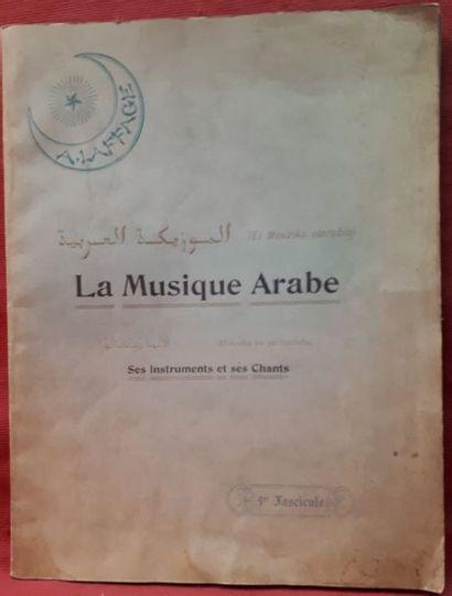 Antonin LAFFAGE. La Musique arabe (El Mouzika...