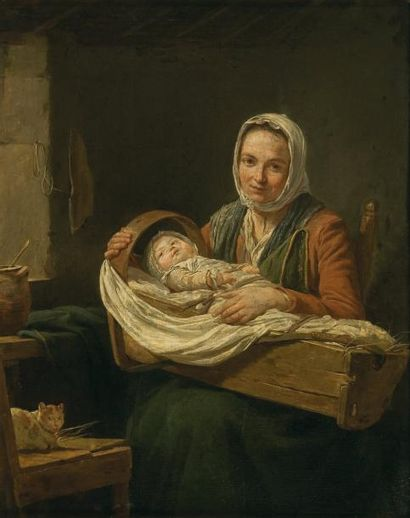 Nicolas -Bernard LEPICIE (1735 - 1784)