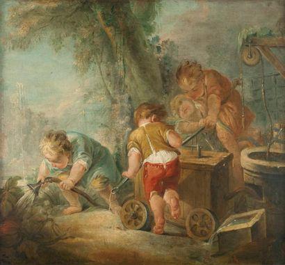 École Française du XVIIIème, atelier de Charles Dominique Eisen