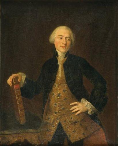 Ecole FRANCAISE du XVIIIème siècle, suiveur de Louis-Michel VAN LOO