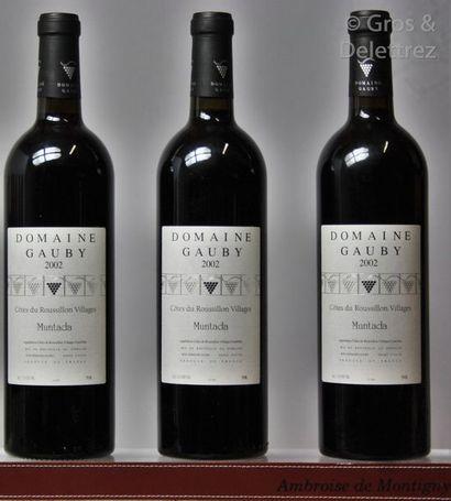 3 bouteilles ROUSSILLON