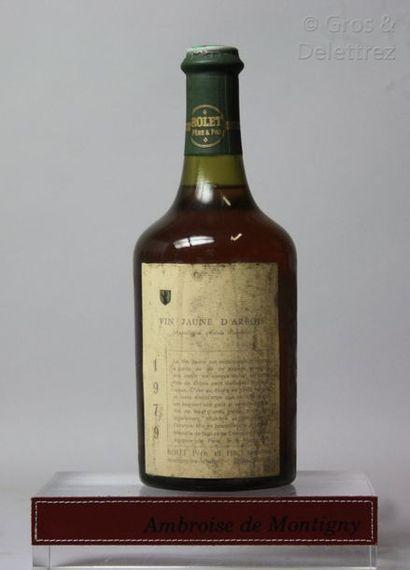 1 bouteille JURA - VIN JAUNE - ROLET Père...