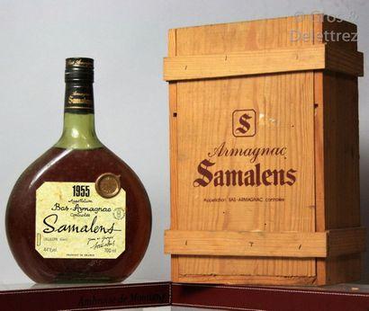 1 bouteille BAS ARMAGNAC - Samalens 1955...