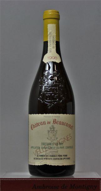 1 bouteille CHATEAUNEUF de PAPE - CHÂTEAU...