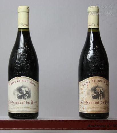 2 bouteilles CHATEAUNEUF DU PAPE