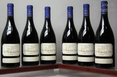 6 bouteilles CHATEAUNEUF DU PAPE