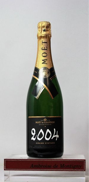 1 bouteille CHAMPAGNE MOËT & CHANDON - Grand...