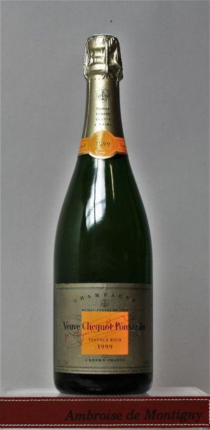 1 bouteille CHAMPAGNE VEUVE CLICQUOT VINTAGE...