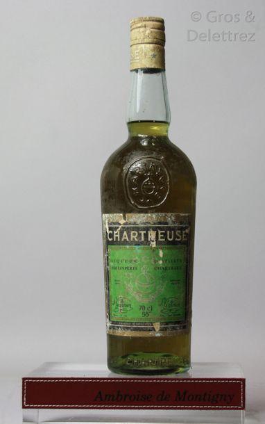 1 bouteille CHARTREUSE VERTE années 80's...