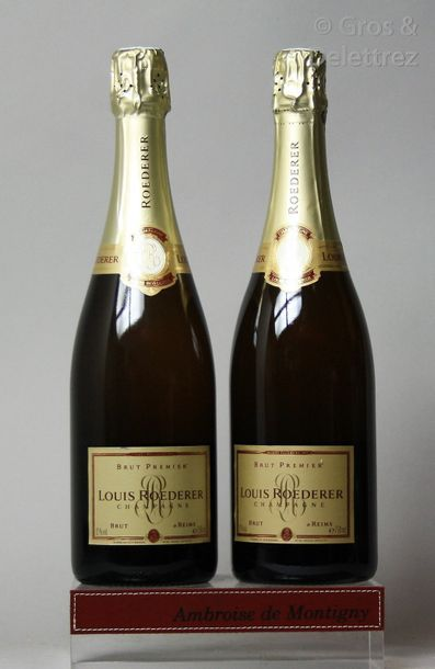 2 bouteilles CHAMPAGNE LOUIS ROEDERER