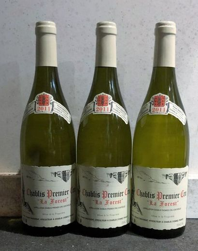 3 bouteilles CHABLIS