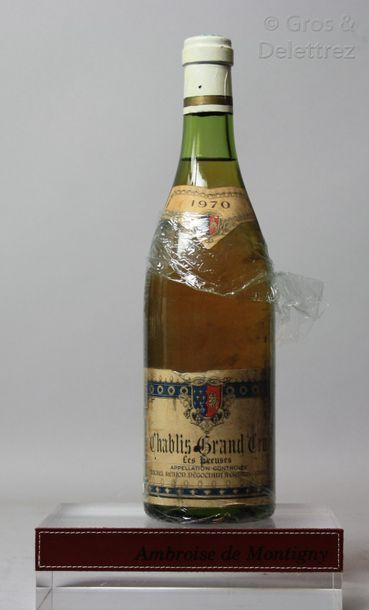 1 bouteille CHABLIS Grand cruL