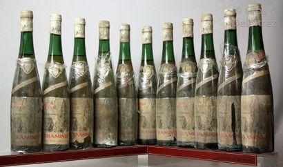 11 bouteilles ALSACE - GEWURSTRAMINER Réserve...