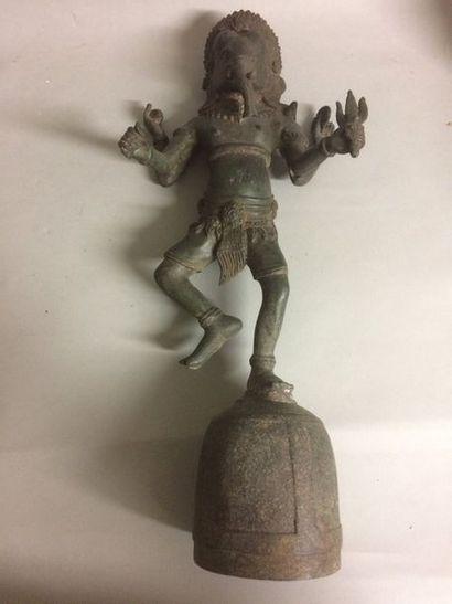 Ganesh en fonte de fer