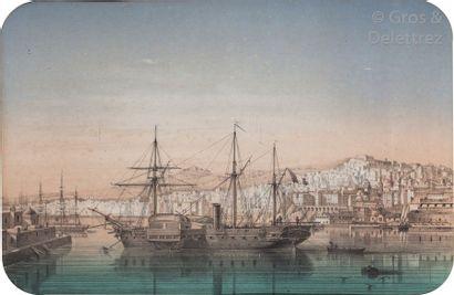 LEBRETON Louis (1818 - 1866). Alger intérieur...