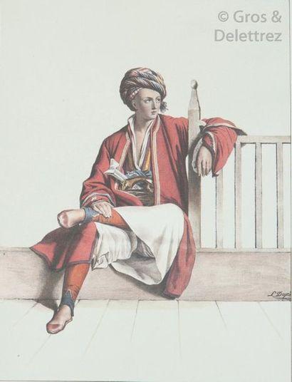 DUPRE (Louis). Voyage à Athènes et Constantinople,...