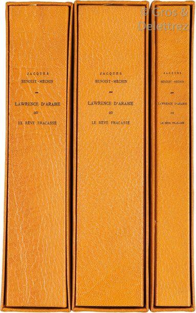 Lawrence. Le manuscrit et le tapuscrit BENOIST-MECHIN...