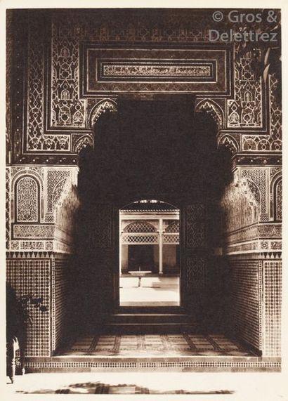 Photo Félix  Maroc, 1910-1930.  Marrakech....