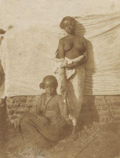 Ernest Benecke (1817-1894)  Deux femmes esclaves...