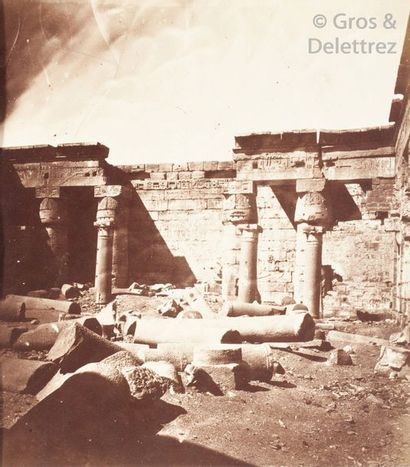 Photographe non identifié  Égypte, c. 1865....