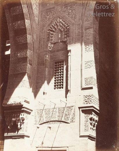 Pascal Sébah  Égytpte, c. 1870.  Mosquée...