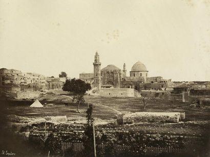 Otto von Ostheim  Jérusalem, c. 1858.  Saint...