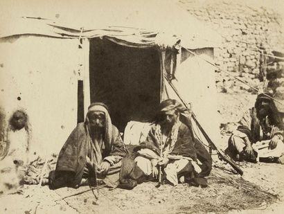 Henry Sauvaire (1831-1896)  Karak, le cheik...