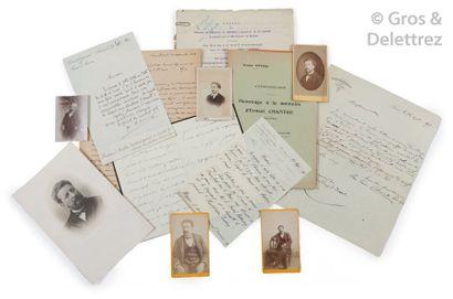Ernest Chantre (1843-1924) et divers  Ensemble...