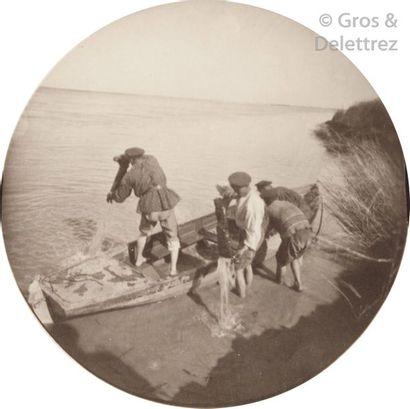 Paul Nadar (1856-1939)  Voyage au Turkestan. Août-Novembre 1890.  Le fleuve Amou...