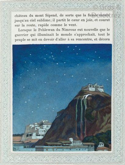 FIRDOUSI (Abou'l kacem). Histoire de Minoutchehr...