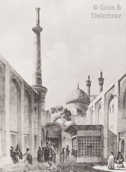 Voyage en Perse de M. Eugène Flandin, peintre,...