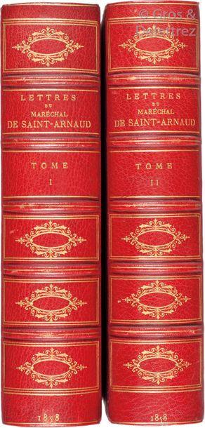 [SAINT-ARNAUD (Armand-Jacques Leroy de)]....