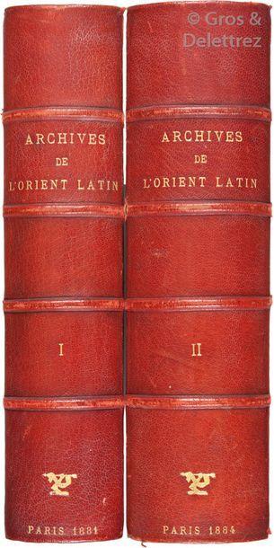 Collection complète Archives de l'Orient...