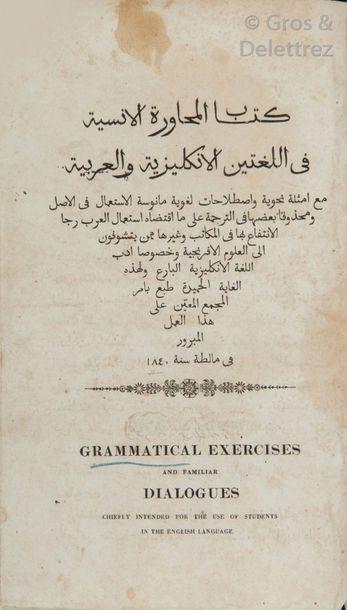 [AL-SHIDYAQ Faris al & BADGER George Percy]....