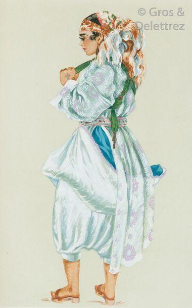 BESANCENOT (Jean). Costumes et types du Maroc....