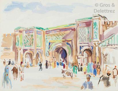 BOSCO Henri. Pages marocaines. Casablanca,...